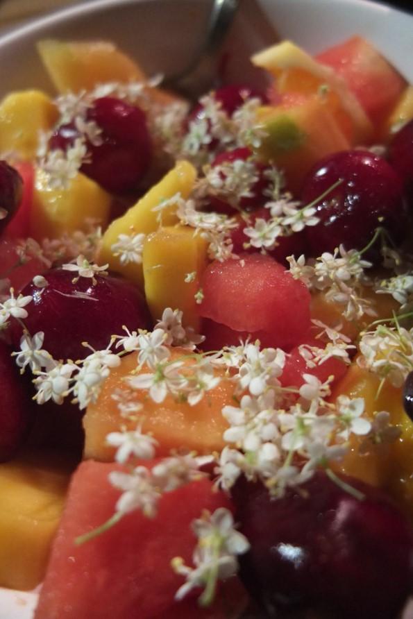 fruit et fleure de sureau