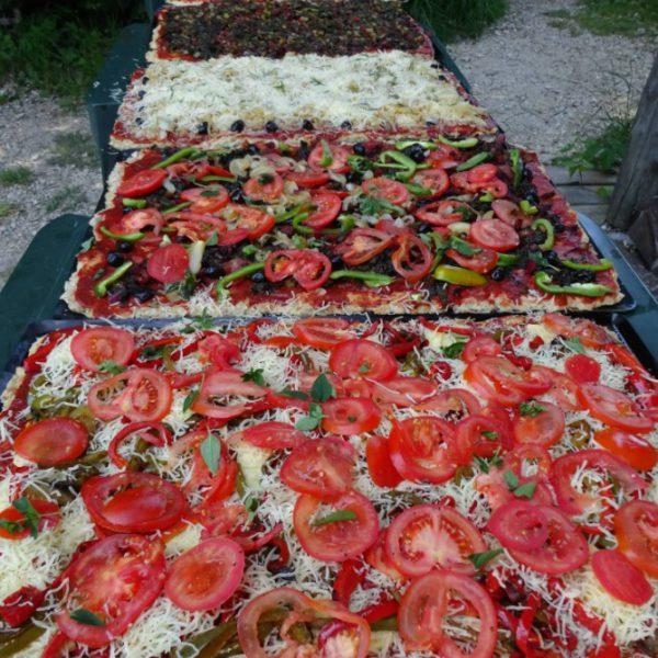 pizza de La cuisine d'Annette