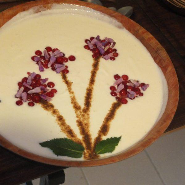 dessert de fleures de La cuisine d'Annette