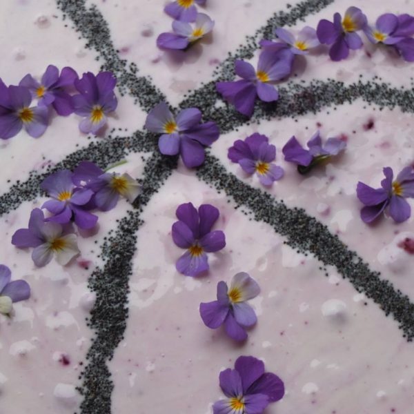 composition de fleures de La cuisine d'Annette