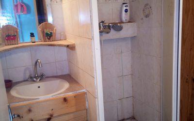 """salle de bain gite """"la louvetière"""""""