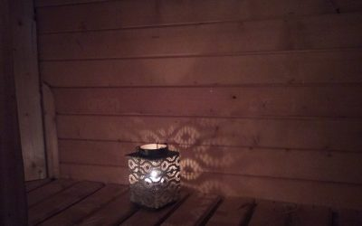 lumière sauna