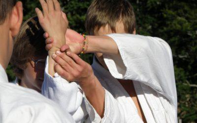 aikido détail mains Aiki'Tipi