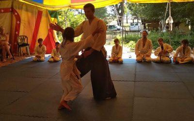 Aiki'Tipi chapiteau cirque aikido